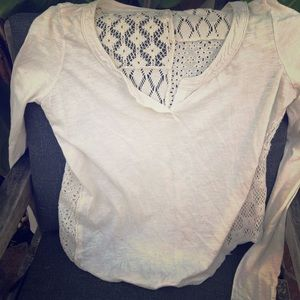Free People long sleeve shirt